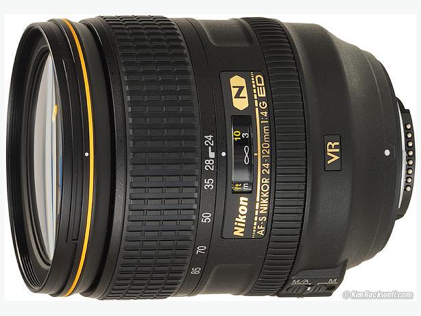 Nikon 24-120mm f4 lens 3 weeks old