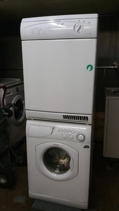 Ariston 24 Quot Apartment Sized Stackable Washer Dryer Set