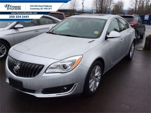 2016 Buick Regal AWD Navigation, Leather, Sunroof