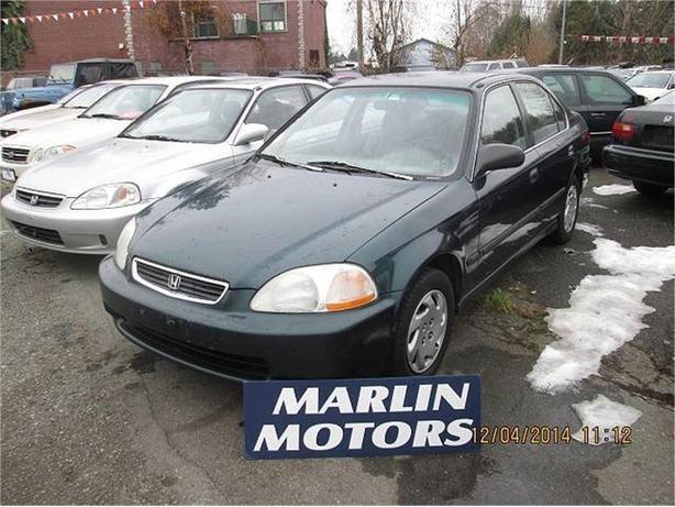 1997 Honda Civic LX sedan