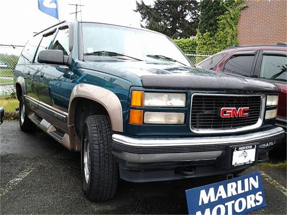 Salt Lake Valley Gmc >> 1996 GMC Suburban 1500 4WD Outside Nanaimo, Nanaimo