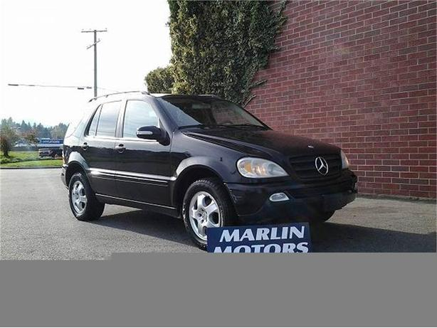 2002 mercedes benz ml320 ml320 outside victoria victoria for Mercedes benz ml320 2002