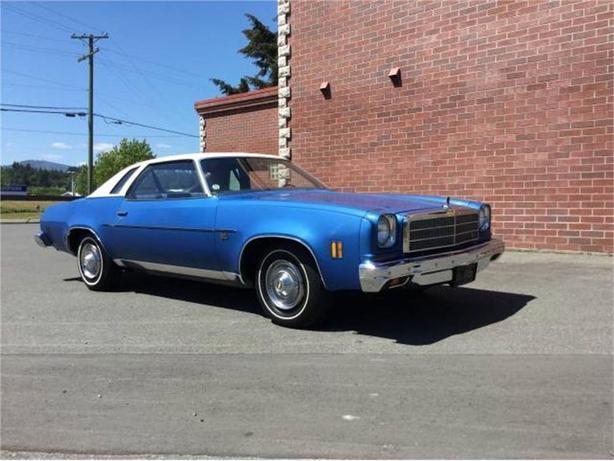 1974 Chevrolet Chevelle Malibu Classic Outside Victoria