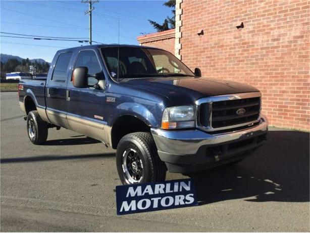 2003 ford f 350 crew cab long bed 4wd duncan cowichan. Black Bedroom Furniture Sets. Home Design Ideas