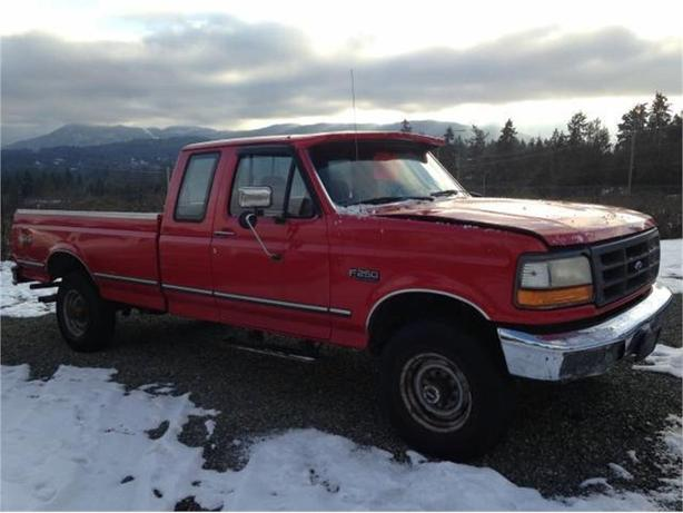 1995 Ford F-250 HD XL SuperCab 4WD