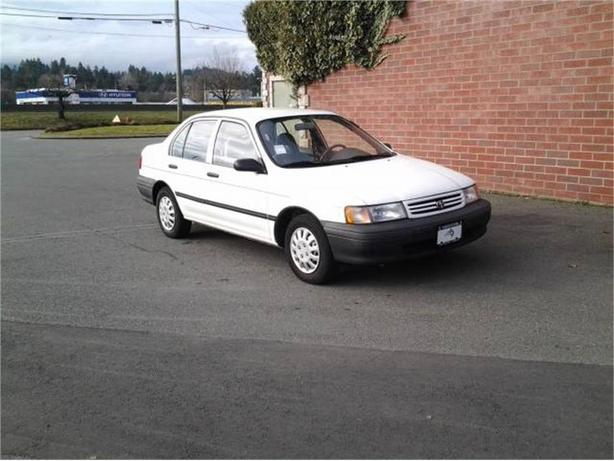 1991 Toyota Tercel DX 4-Door sedan