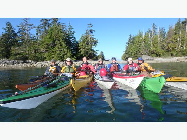West Coast Intermediate & Advanced Kayak Trips 2017