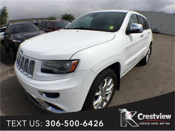 2014 Jeep Grand Cherokee Summit | EcoDiesel | Leather | Sunroof | Navigation