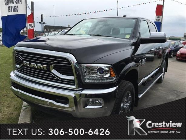2016 Ram 3500 Longhorn Limited Crew Cab | Sunroof | Navigation