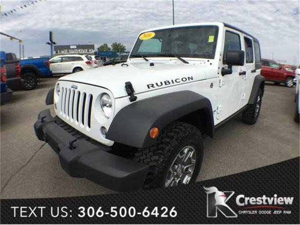 2016 Jeep Wrangler Unlimited Rubicon | Leather | Navigation