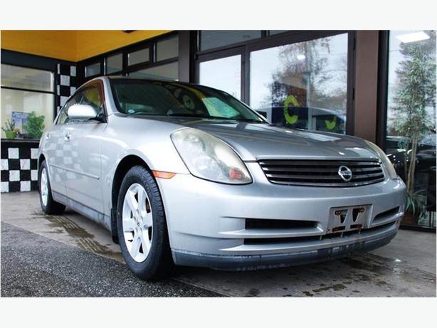 2001 Infinity G Nissan Skyline 250GT 72 KMs, NO ACCIDENTS - $161 B/W