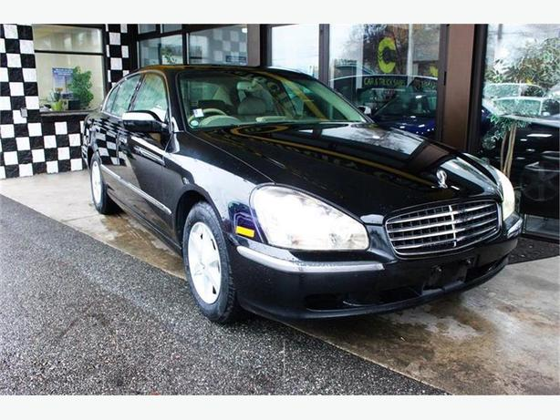 2001 Infiniti Q45 Nissan Cima 98 KMs, LEATHER - $161 B/W