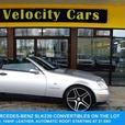 1999 Mercedes-Benz SLK-Class 230  Convertible 59K's Supercharged 194hp Leath
