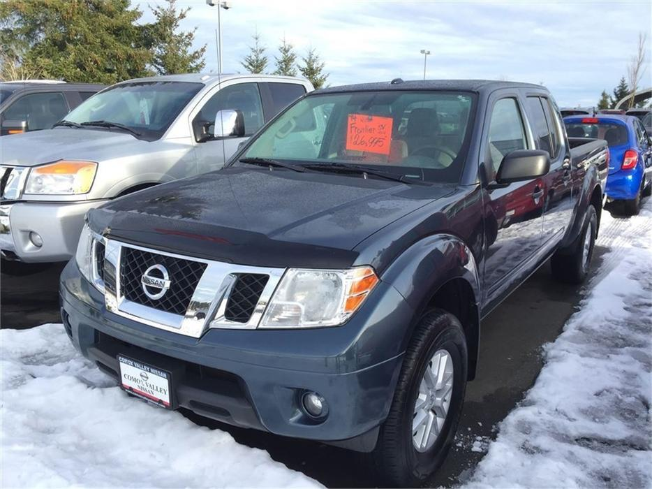 2014 nissan frontier crew cab sv 4x4 outside nanaimo. Black Bedroom Furniture Sets. Home Design Ideas