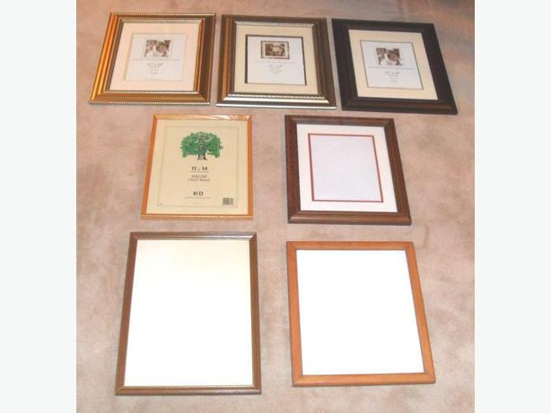 7 Big Wooden Photo Frames