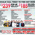 Poster printing services in calgary @ Creative Factor print