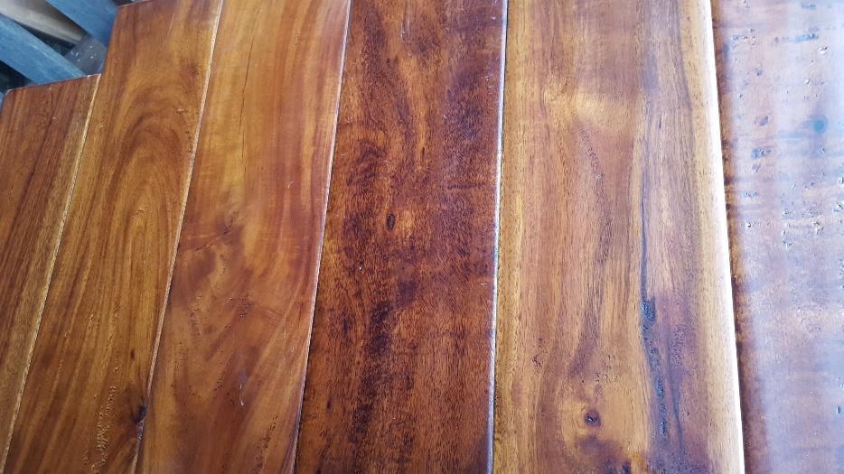 Solid hardwood handscraped plank flooring west shore for Hardwood flooring york region