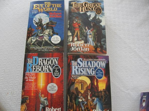 Wheel of Time Series -  Robert Jordan  - 12 books