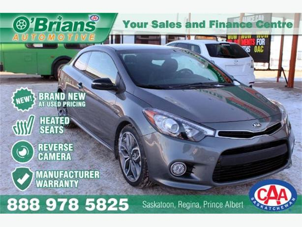 2015 Kia Forte Koup SX - Brand New Vehicle at Used Pricing!