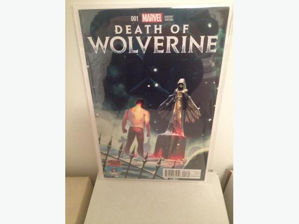 Death of Wolverine #1 Mile High Comics Variant
