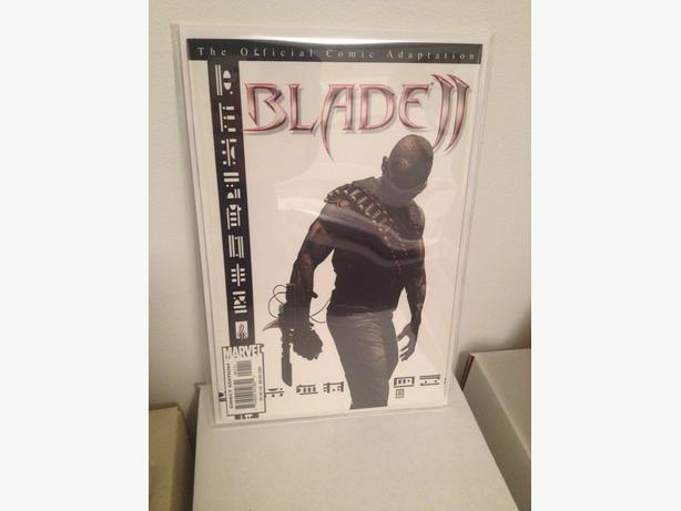 Blade 2 Official Comic Book Adaptation TPB