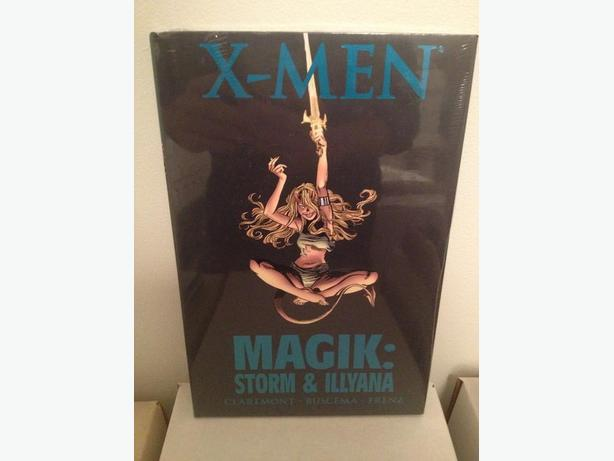 SEALED! X-Men Magik: Storm & ILLyana Hardcover