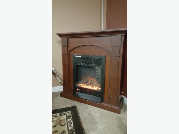 Electronic fire place