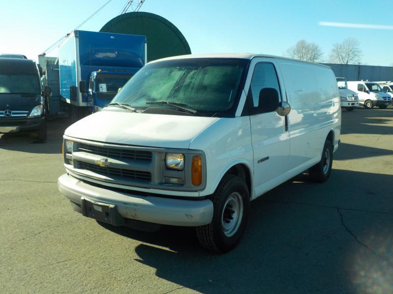 2000 Chevrolet Express 3500 Cargo Van Outside Metro