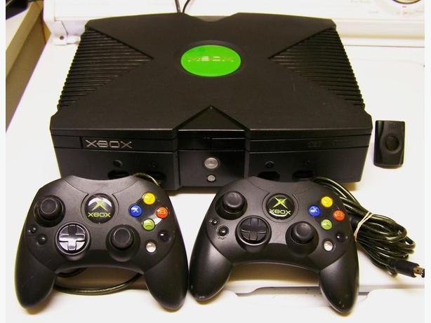 XBOX ORIGINAL SYSTEM + GAMES