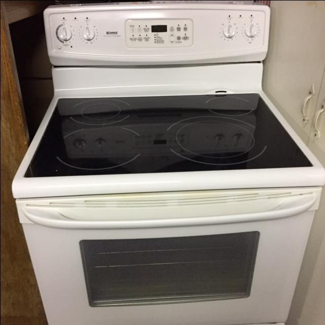 Kenmore Self Clean Glass Top Stove Cornwall Pei Mobile