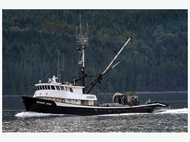Commercial Fishing Boat - Longliner, Seiner, Packer - Milbanke Sound