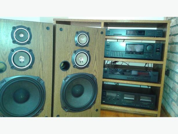 jvc home stereo system outside victoria victoria