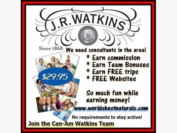 J.R. Watkins Home Based Business Opportunity