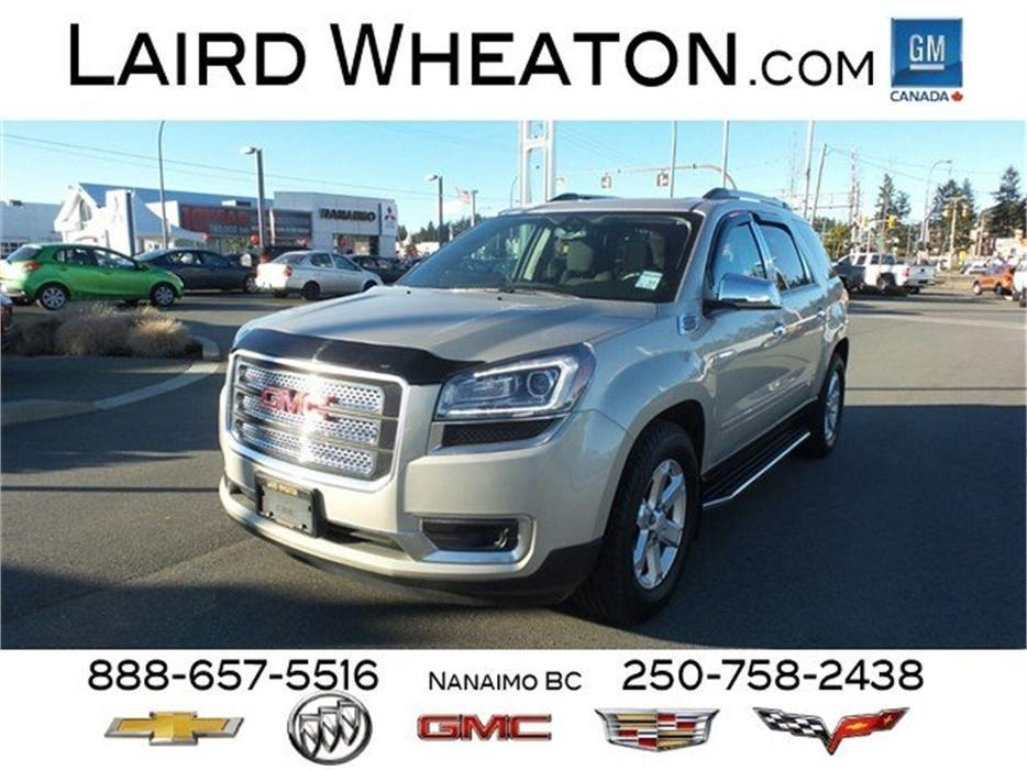 2014 gmc acadia sle2 awd w trailering package outside alberni valley alberni mobile. Black Bedroom Furniture Sets. Home Design Ideas