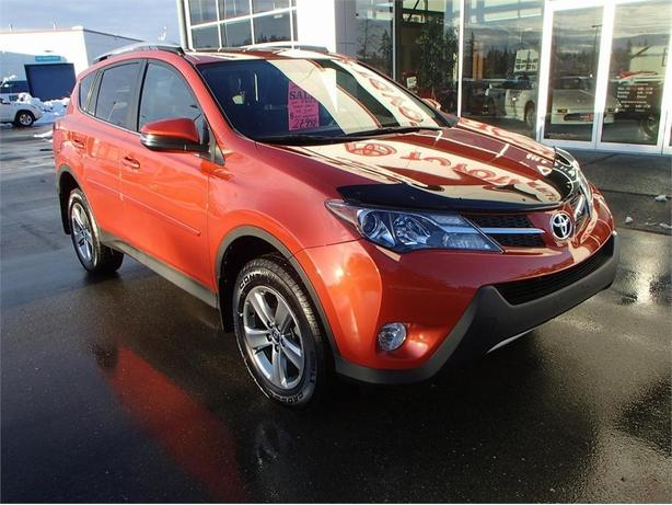 2015 toyota rav4 xle outside nanaimo nanaimo. Black Bedroom Furniture Sets. Home Design Ideas