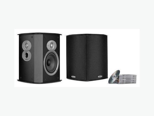Polk FXiA4 Surround Speakers (Pair) Black