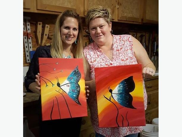 Paint Night - book your private party!
