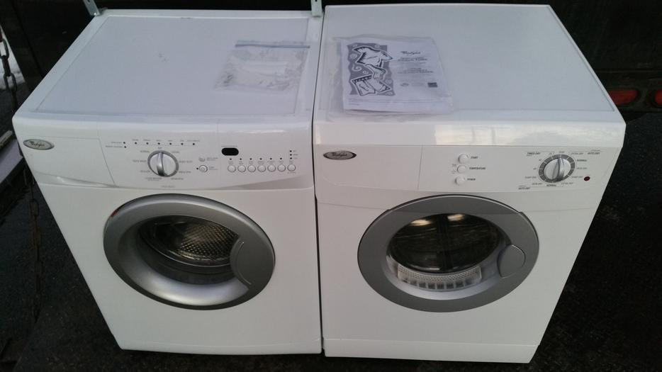 24 wide apartment sized whirlpool stackable washer dryer