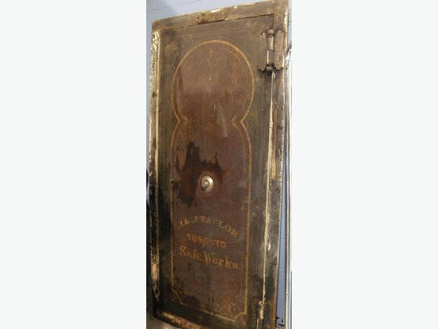 *Reduced*Antique J u0026 J Taylor Wall Door Safe Toronto Safe Works (I & Reduced*Antique J u0026amp; J Taylor Wall Door Safe Toronto Safe Works ...