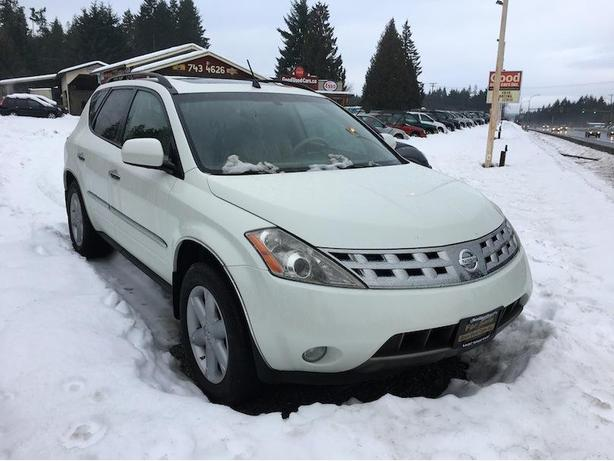 2004 nissan murano awd fully loaded suv value priced malahat including shawnigan lake. Black Bedroom Furniture Sets. Home Design Ideas