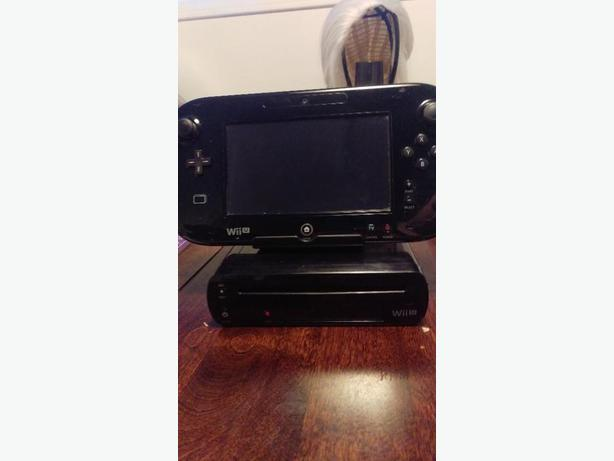 Nintendo Wii U 32gb black