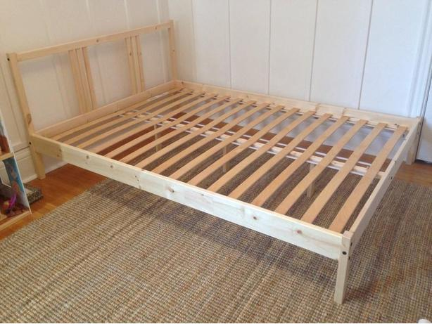 Pine Ikea Double Bed Frame Victoria City Victoria