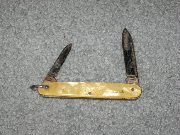 vintage Kutmaster pocket knife tobacconist tobacco