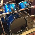 Ludwig Rocker 5 vintage drum kit.