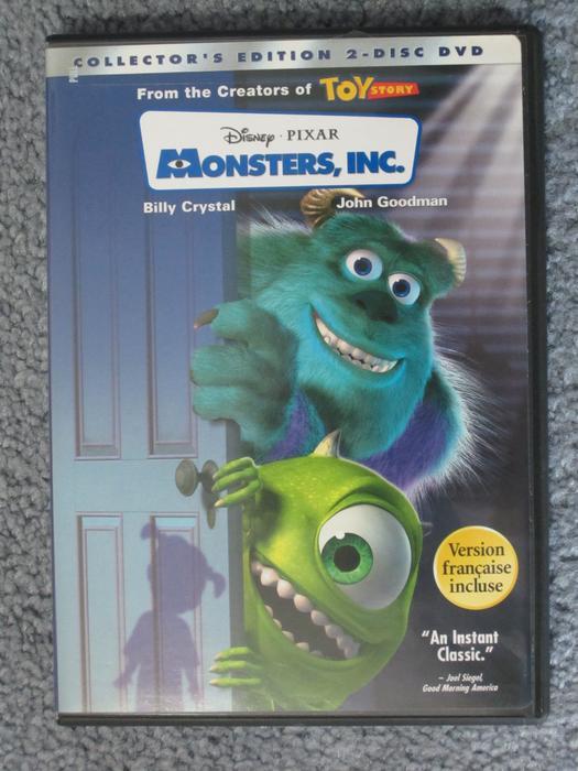 Monsters Inc Collector's Edition (2 DVDs) Disney Pixar ...
