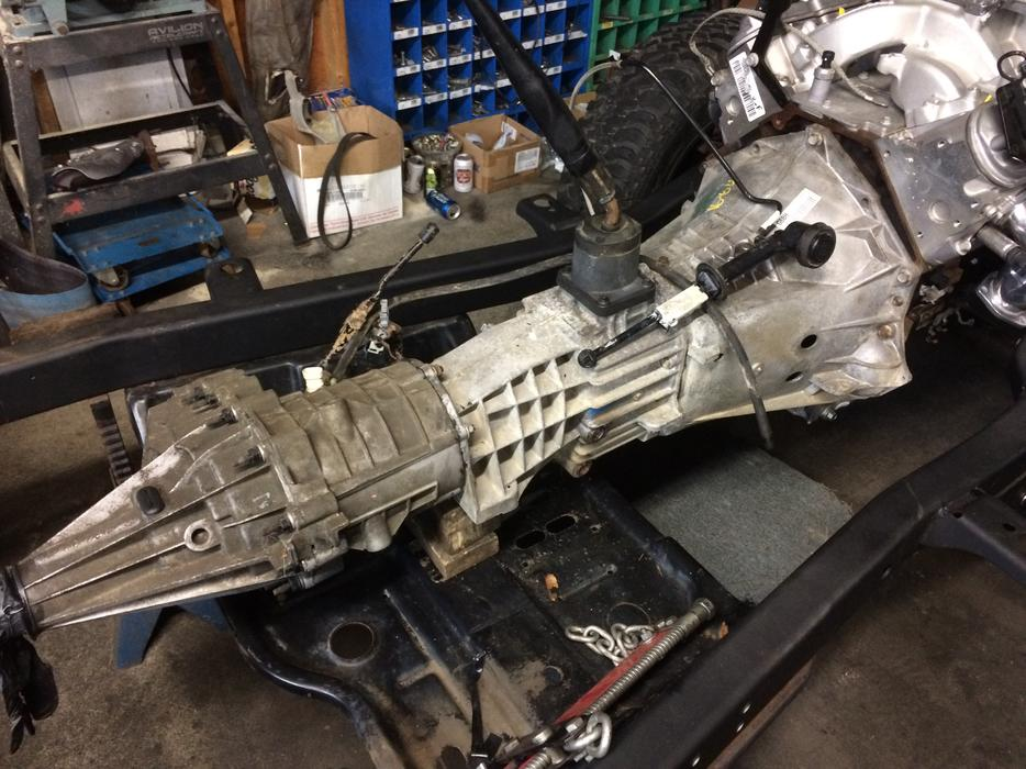 Nv3500 Transmision And Np261 Chevy Gmc Transfer Case