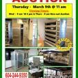 RESTAURANT EQUIPMENT AUCTION - THURSDAY - MARCH 9th @ 11 am