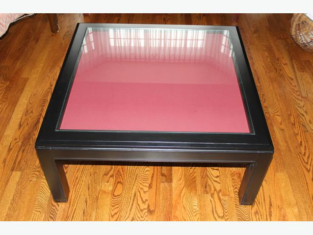 Display Case Glass Top Coffee Table Orleans Ottawa