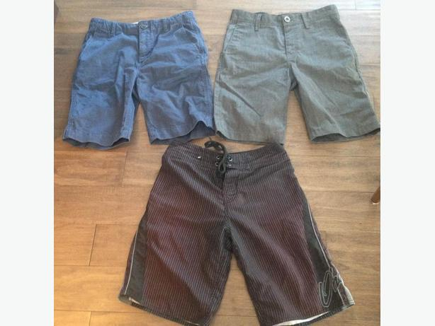 Youth Boy's Brand Name Shorts  & UA Pants - in great shape