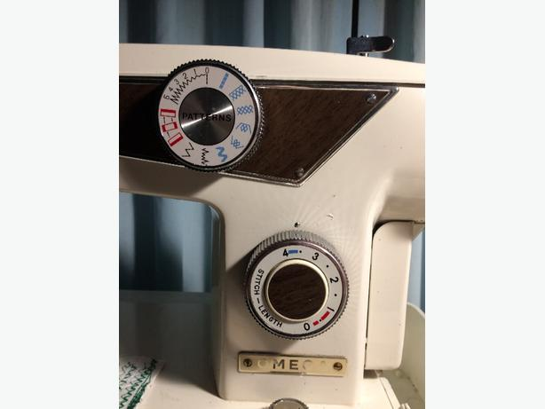 Omega sewing machine